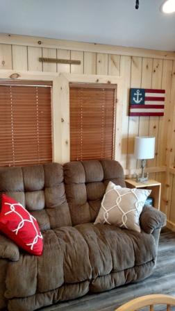 """The """"Massachusetts"""" Park Model Rental Cabin"""